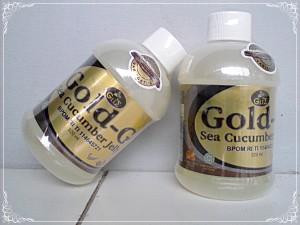 Jual Gold-G Sea Cucumber Jelly