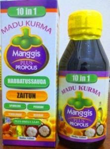 Jual Madu Kurma Manggis Xamthone Plus Propolis 10 in 1